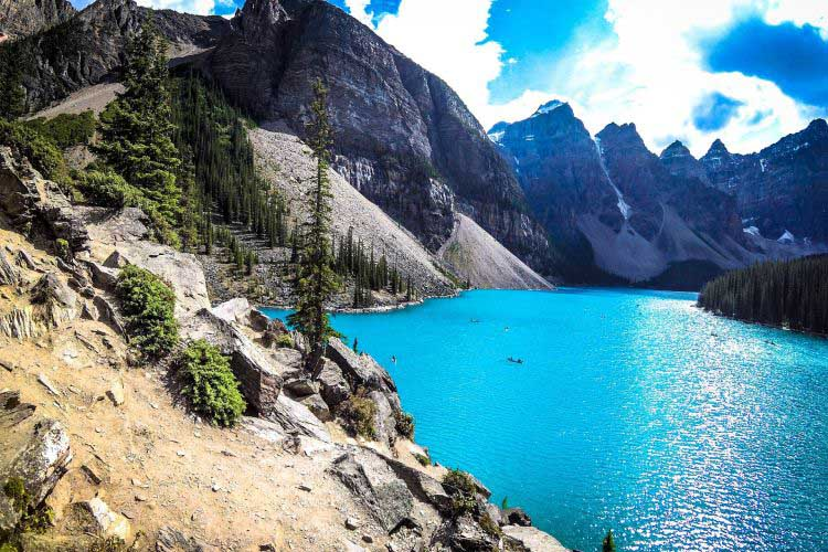 Kanada Moraine Lake