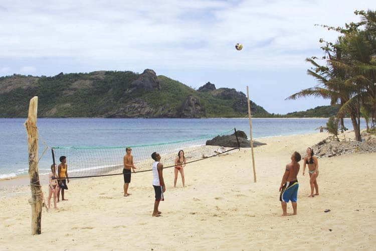 awesome adventures waya lailai volleyball