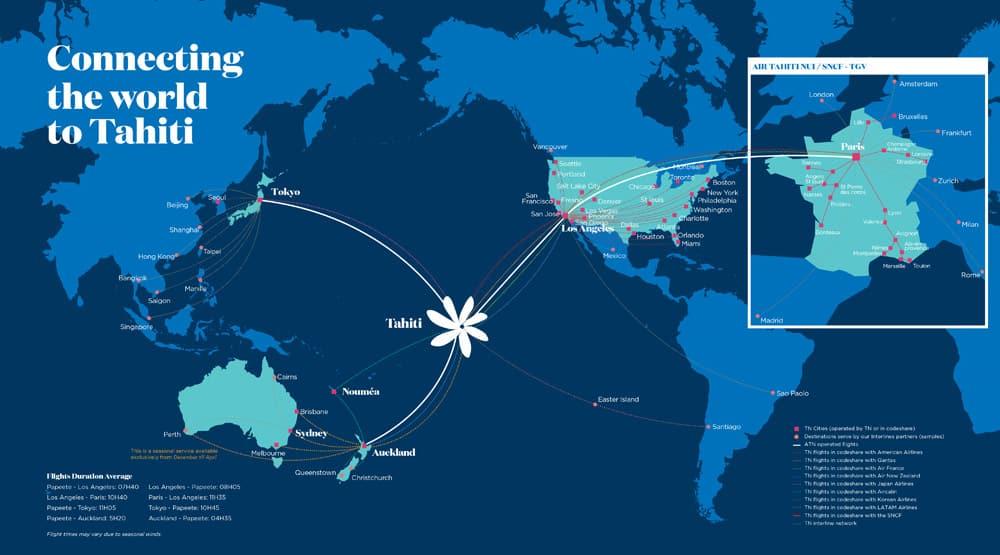 Air Tahiti Nui - die schnellste Verbindung nach Tahiti ...